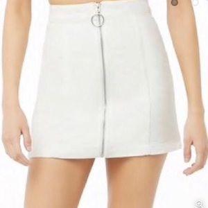 NWT Ivory White Corduroy Skirt